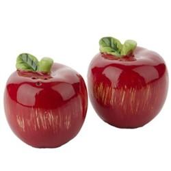 خرید اینترنتی نمکدان طرح سیب کد 001 بسته 2 عددی , قیمت انواع شکر پاش و نمک پاش متفرقه