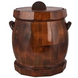 خرید اینترنتی ظرف برنج خانه چوبی طرح بشکه کد 610002 , قیمت انواع ظرف برنج متفرقه