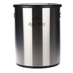 خرید اینترنتی ظرف برنج استیل اورانوس مدل URB-210 طرح خشدار مشکی , قیمت انواع ظرف برنج اورانوس
