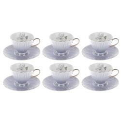 ست فنجان و نعلبکي 12 پارچه ماتمازل ,استکان چای ,فنجون ,قیمت سرویس چای خوری