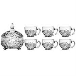 خرید اینترنتی سرویس چای خوری 7 پارچه فایو استارسرویس چای خوری 7 پارچه فایو استار مدل ناتالی کد FCN0002 ,