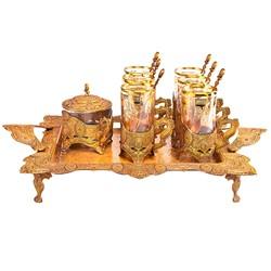 خرید اینترنتی سرویس چای خوری 14 پارچه ریور مدل 1721 , قیمت انواع سرویس چای خوری متفرقه