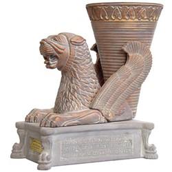 خرید اینترنتی مجسمه ریتون شیر کارگاه تندیس و پیکره شهریار کد MO1380 سایز بزرگ, قیمت انواع مجسمه و تندیس تندیس و پیکره شهریار