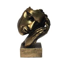 خرید اینترنتی مجسمه طرح خواب روی دست کد 126 , قیمت انواع مجسمه و تندیس متفرقه