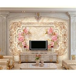 خرید اینترنتی پوستر دیواری سه بعدی بومرنگ کد BW034 , قیمت انواع کاغذ دیواری بومرنگ
