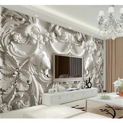 خرید اینترنتی پوستر دیواری سه بعدی بومرنگ کد BW033 , قیمت انواع کاغذ دیواری بومرنگ