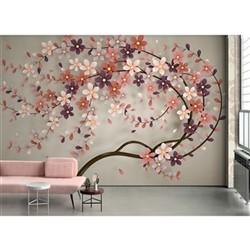 خرید اینترنتی پوستر دیواری سه بعدی بومرنگ کد BW159 , قیمت انواع کاغذ دیواری بومرنگ