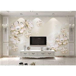 خرید اینترنتی پوستر دیواری سه بعدی بومرنگ کد BW015 , قیمت انواع کاغذ دیواری بومرنگ