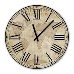 خرید اینترنتی ساعت دیواری پرسناژ مدل C01 , قیمت انواع ساعت های تزئینی متفرقه