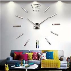 خرید اینترنتی ساعت دیواری پدیده شاپ مدل رافائل نقره ای , قیمت انواع ساعت های تزئینی متفرقه