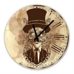 خرید اینترنتی ساعت دیواری پرسناژ مدل C07 , قیمت انواع ساعت های تزئینی متفرقه